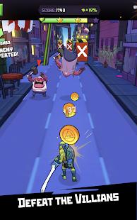 Rise of the TMNT Ninja Run v0.7 APK Full