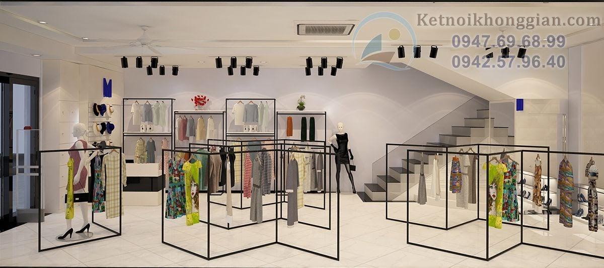 thiết kế shop thời trang nữ đẳng cấp cao