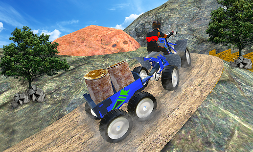 Quad ATV Rider: Extreme Off-Road Cargo Transport- screenshot thumbnail