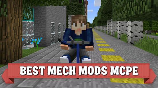 Mech mods for Minecraft PE - náhled