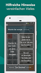 Bruchrechner Plus Gratis Screenshot
