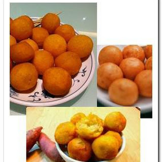 Fried Sweet Potato Balls Recipes