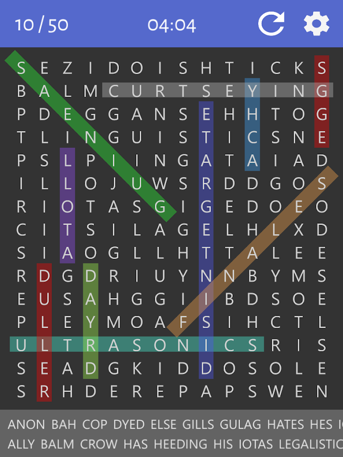 Word Search - Free Puzzles- screenshot