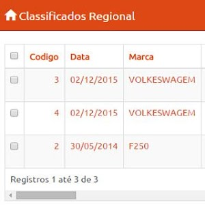 Classificados Regional screenshot 1