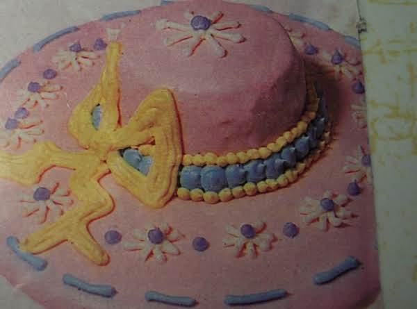 Easter Bonnets.....makes 24 Little Cakes