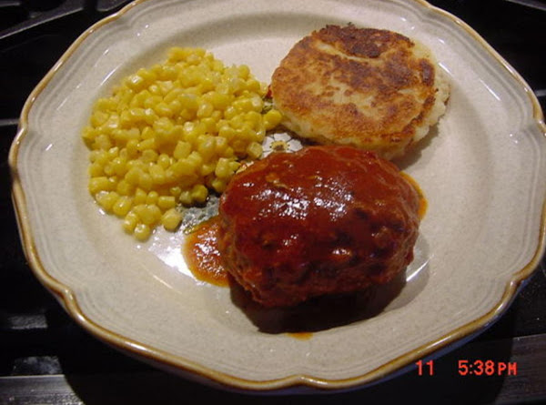 Stovetop Meat Loaves Recipe