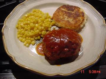BONNIE'S STOVETOP MEAT LOAVES