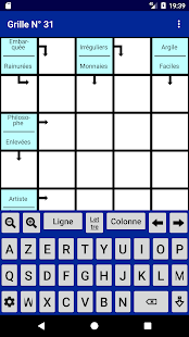 French arrow crossword - náhled