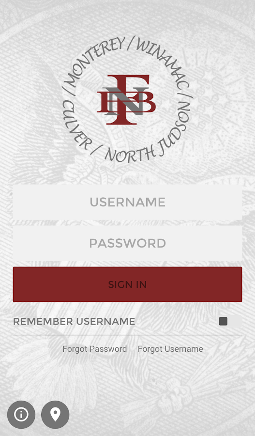 First National Bank Monterey- screenshot