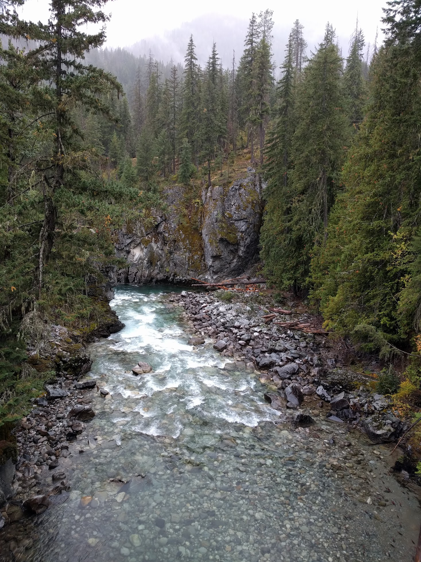 Stehekin River at High Bridge