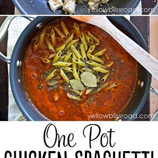 Spicy Spaghetti Sauce Chicken Recipes