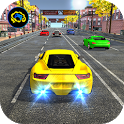 Racing in car 2018 - City traffic racer driving icon