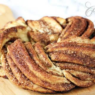 Estonian Kringle - Cinnamon Braid Bread.