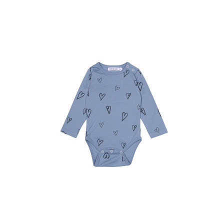 One We Like heart body ls denim