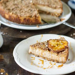 Bavarian Apple Oatmeal Streusel Cheesecake.