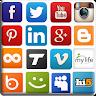 Social Network HUB icon