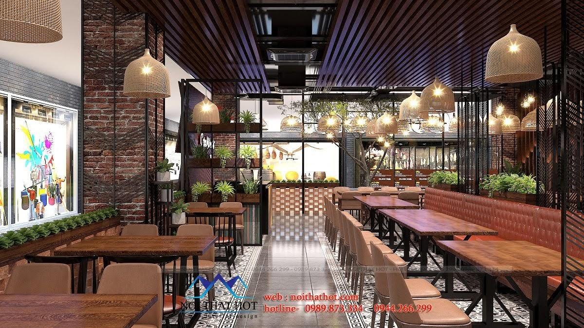 thiết kế nhà hàng độc đáo