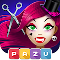 Girls Hair Salon Monsters - Hairstyle kids games icon