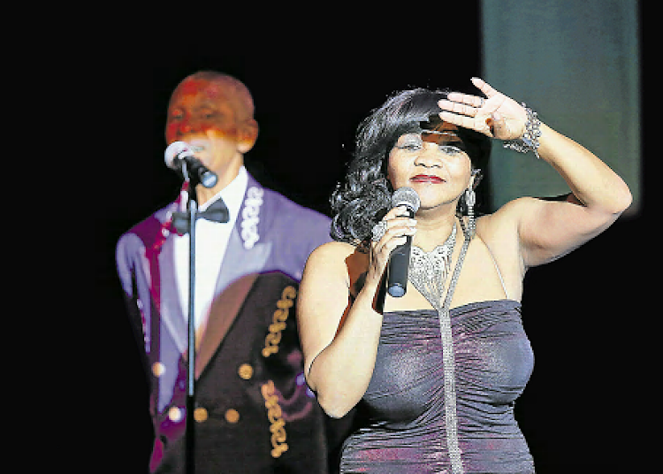Celebrated SA band The Pretenders perform at a charity 'Midnight Train to Motown' tribute show at the Guild Theatre on Friday.