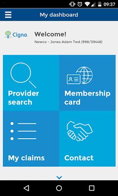 Cigna Health Benefits - screenshot