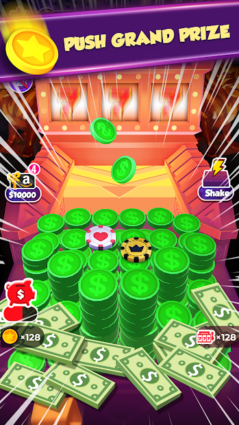 Pusher Mania Android App Screenshot