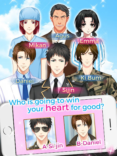 Otome Game: Love Dating Story  captures d'u00e9cran 8