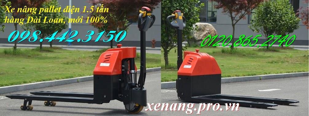 Xe nâng pallet điện 1.5 tấn