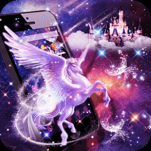 Unicorn Purple Dreamy Theme