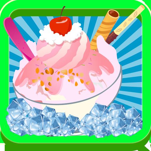 休闲の冷凍カスタードメーカーのゲーム LOGO-記事Game