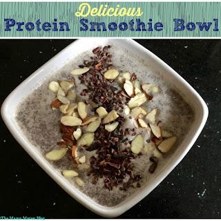 Protein Smoothie Bowl.
