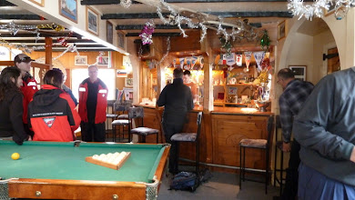 Photo: Bar at Vardansky base (Ukraine) where they make (and sell) their own vodka