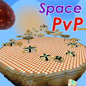 Space PvP Battle MCPE map