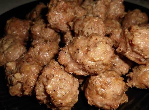 Sweet Italian Turkey Meatballs