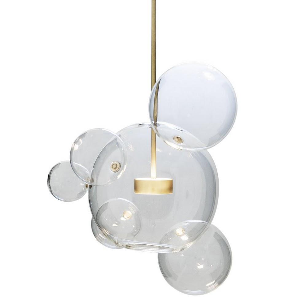 BOLLE 6 SUSPENSION LAMP   DESIGNER REPRODUCTION