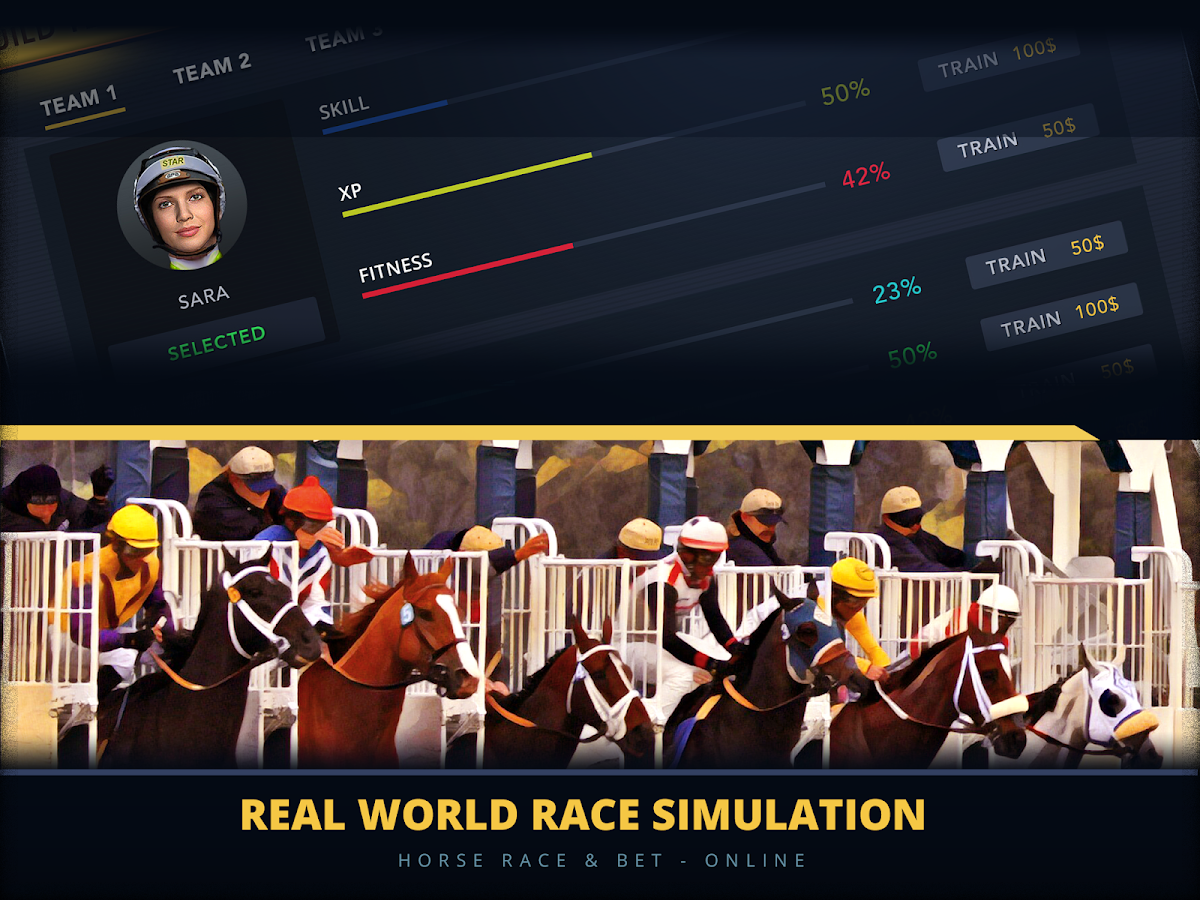 horse racing betting game