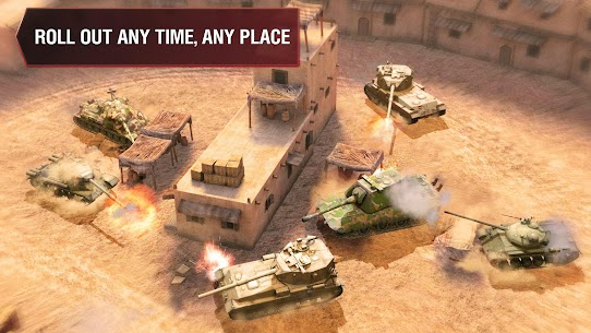 World of Tanks Blitz MOD (Unlimited Gold) 2