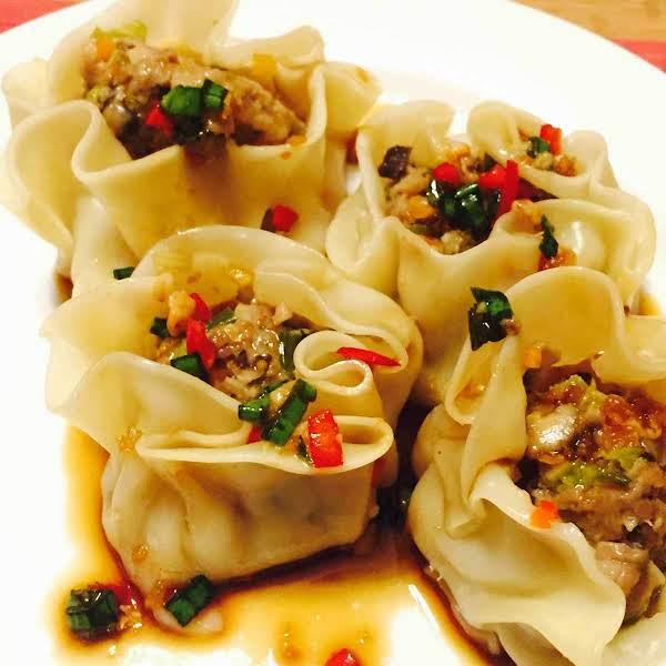 Veal Steamed Dumplings (dim Sum) Recipe