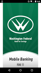 Washington Federal Bank- screenshot thumbnail