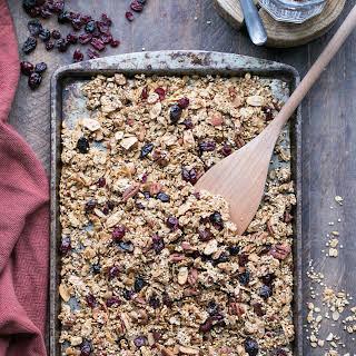 Quinoa Granola (Gluten Free + Vegan).