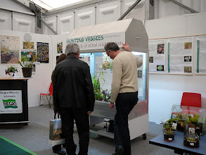 Photo: Special CP-exhibition at the Regio-Messe 2010. Urs Zimmermann explaining the CP inside the display.