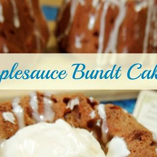 Mini Applesauce Bundt Cakes
