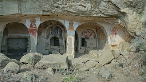 Höhle des Klosters Udabno.