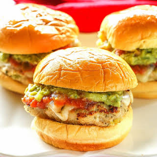 Green Chili Chicken Sliders.