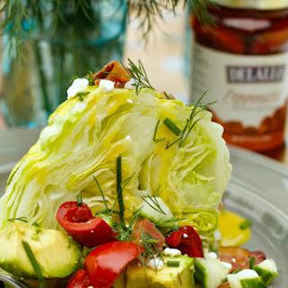 Wedge Salad Bar.