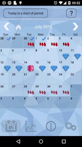 Women's Calendar сrystal