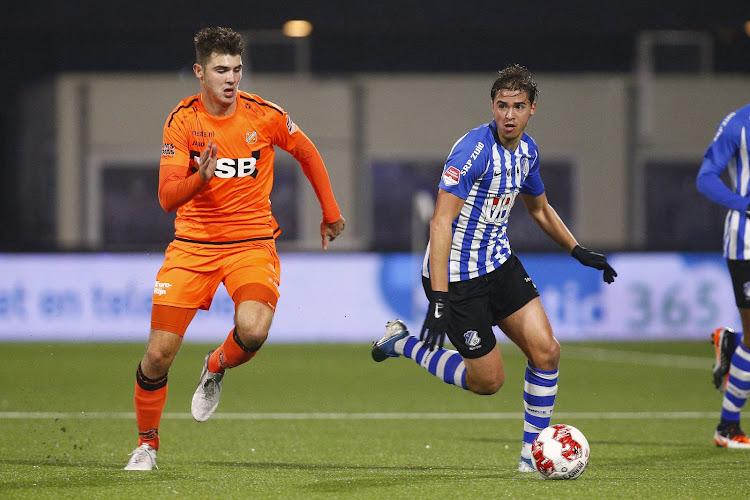"""Le défi de Samy Bourard en Eredivisie : """"Un nouvel objectif que je m'étais fixé !"""""""
