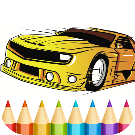 Cars Coloring Book for Boys