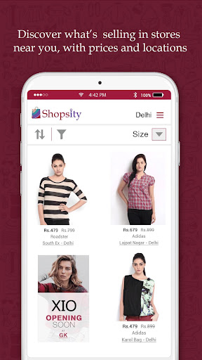 Shopsity - Local Shopping App