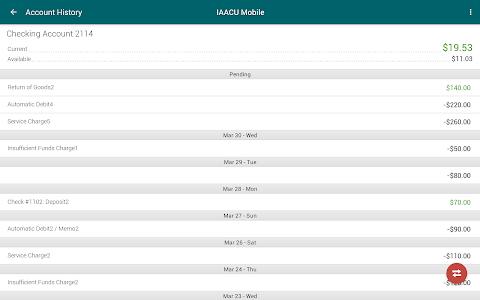IAA Credit Union Mobile screenshot 6