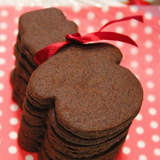 Divine Christmas chocolate cookie
